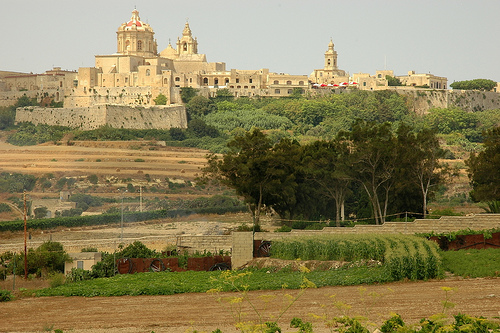 Malta - view on the city of MDina